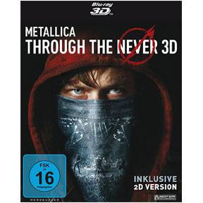Metallica Through the Never - Blu-ray 3D - Cover