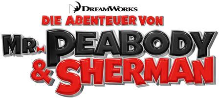 Die Abenteuer von Mr Peabody und Sherman - Logo