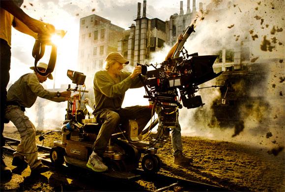 Dreharbeiten - Transformers 4 - Michael Bay