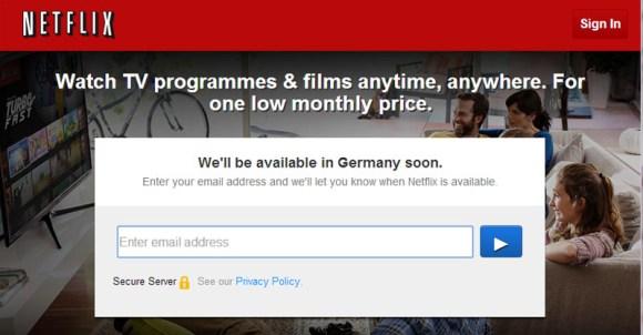 Netflix Germany Soon