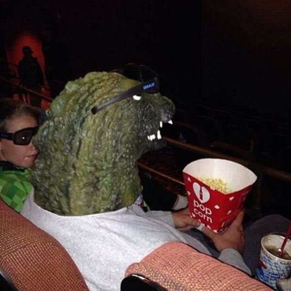 Godzilla im Kino
