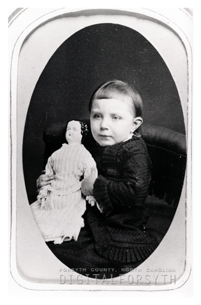 Unidentified Child with a Doll