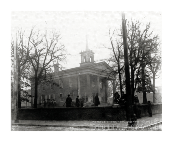 'First Court House 1850'