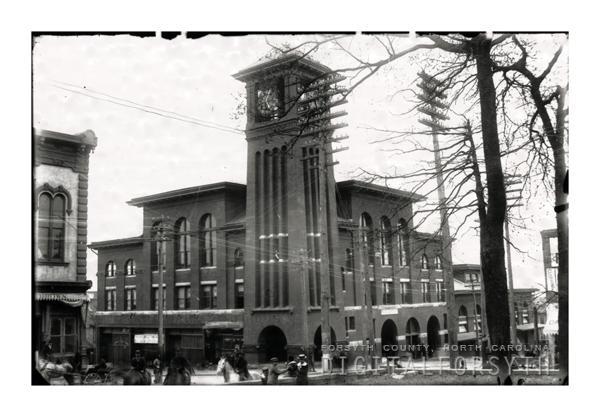 'Old City Hall at 4th and Main'