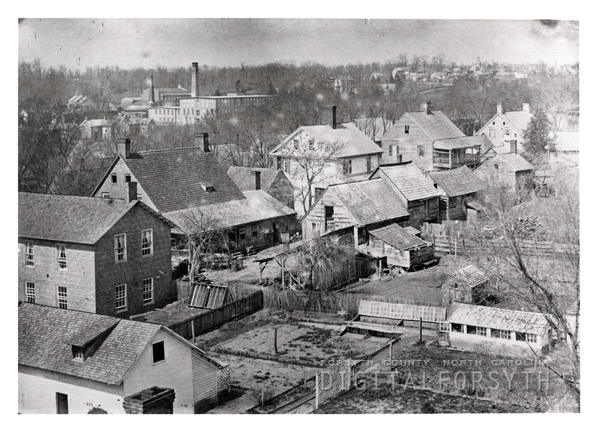 View of Salem northwest from Main Street