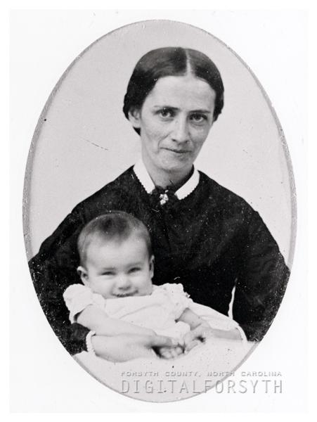 Angelica Elizabeth Keehln nee Bahnson and Son