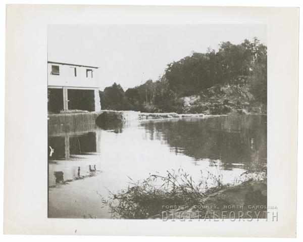 Idol's Dam and Power Plant on the Yadkin River.