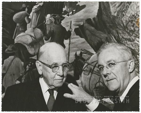 Rt. Reverend J. Kenneth Pfohl and W. Herbert Spaugh, 1959.