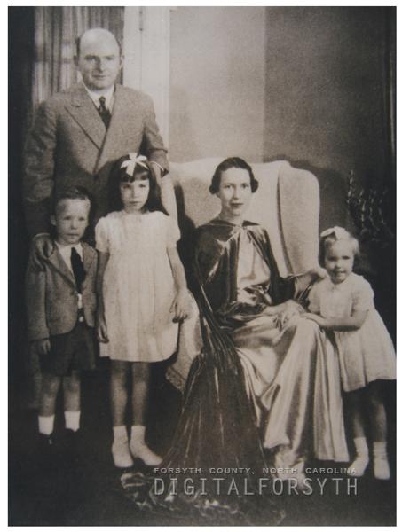 Charles Henry Babcock family, 1937.
