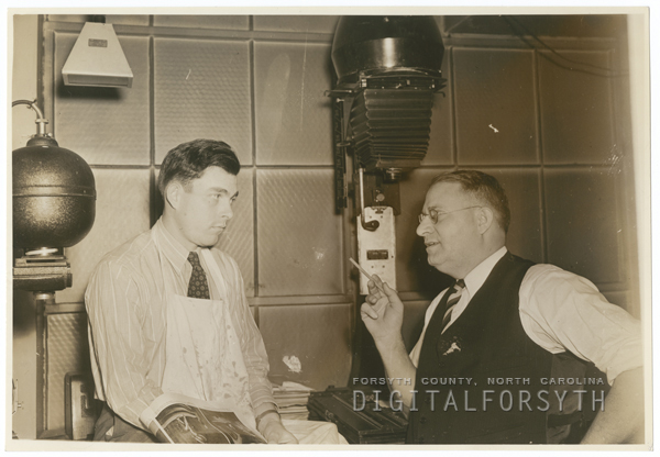 Frank Jones and Harvey Dinkins, 1940.