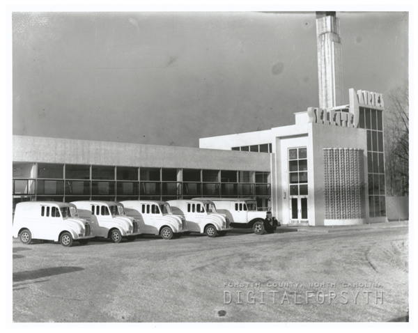 Selected Dairies Company, located on South Stratford Road, 1938.