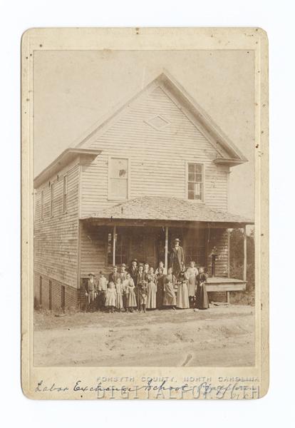 Labor Exchange School in Pfafftown, N. C.
