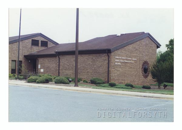 Rural Hall/Stanleyville Branch Library exterior.