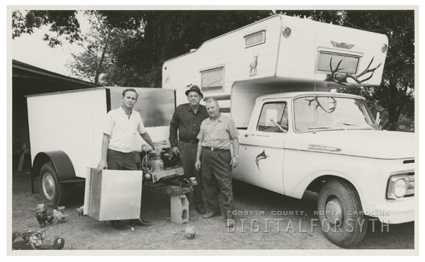 C. C. Goins, Fred Cook and Homer Cook, 1964.