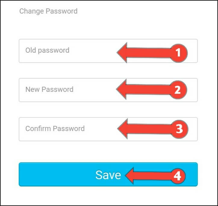 Change Paytm Current Password