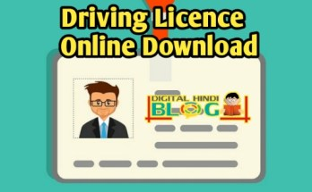 How to Download Driving Licence Online