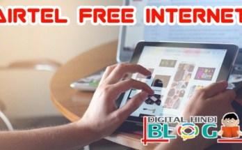 Airtel Free Internet 4g Get 120gb Data