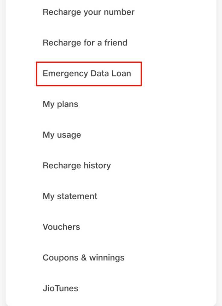 Jio Data Loan 2