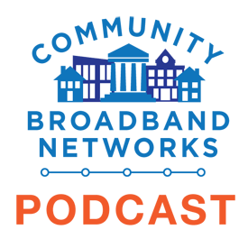 Angela on Community Broadband Bits Podcast