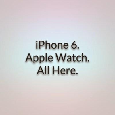 Apple Keynote September 2014