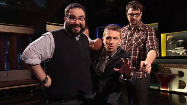 Matt-Mira-Chris-Hardwick-and-Jonah-Ray-of-The-Nerdist-Podcast
