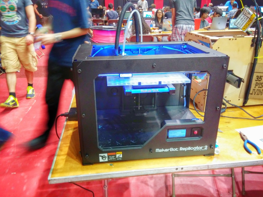 3d printer front
