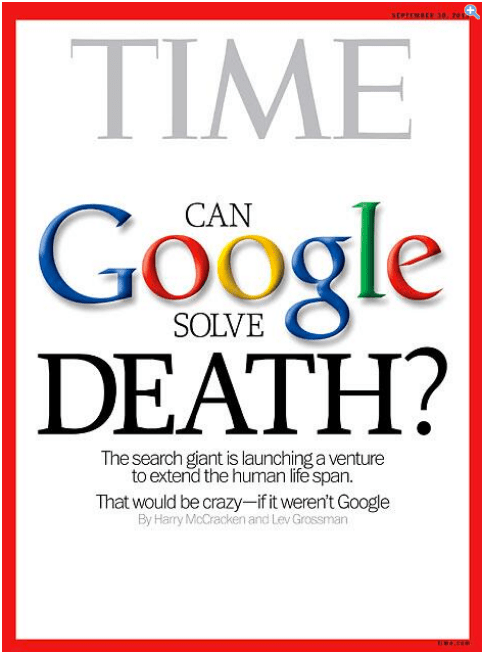 google solve death