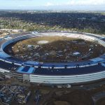 New Apple Campus Drone Footage