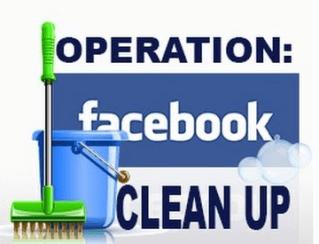 facebook spring clean