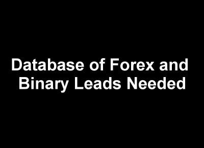 Binary-Forex Leads