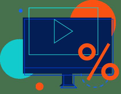 Online Video Marketing Statistics infographic by Digital Logic Shreveport