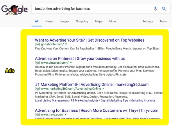 best online advertising for business