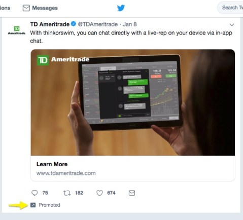 twitter ads best online advertising for business