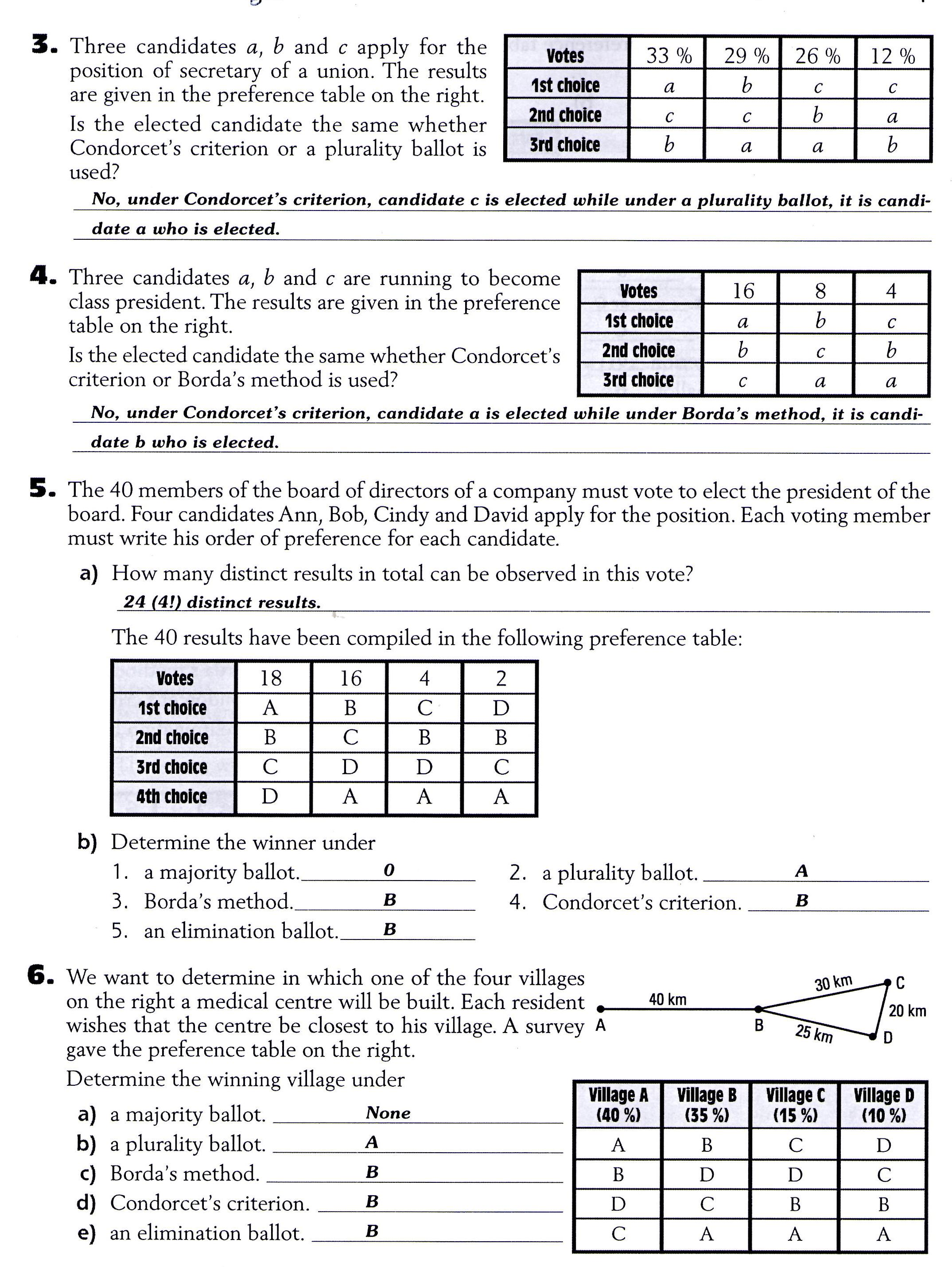 Fun Math Worksheet For 8th Graders