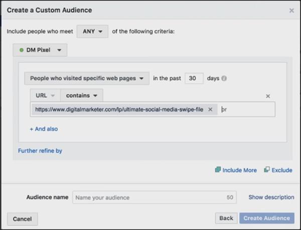 creating a custom ad audience