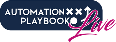 automation playbook live logo