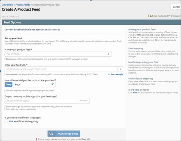 StitcherAds Social Media Marketing tool