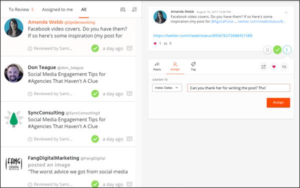 Agorapulse Social Media Marketing tool