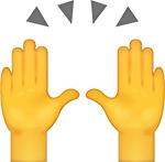 high ten emoji