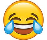 crying laugh emoji