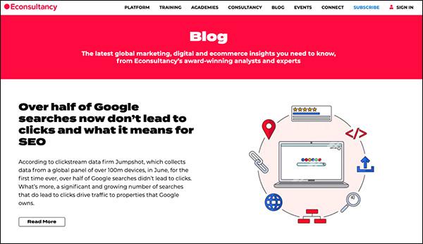 Econsultancy Marketing Blog