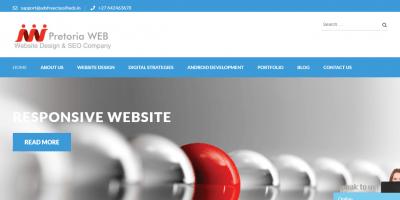 PretoriaWEB Traffic Website Design Company in Pretoria