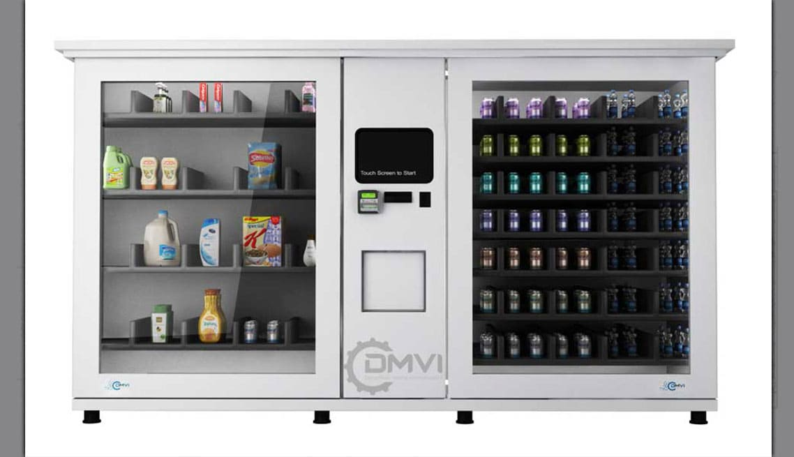 Large Format Vending Machines Custom Vending Machine