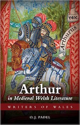 Cover of O. J. Padel's Arthur in Medieval Welsh