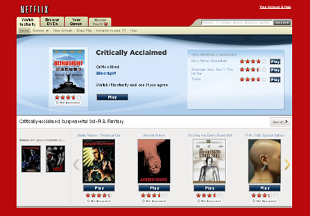 Instant Streaming Via NetFlix – NEATO! but…