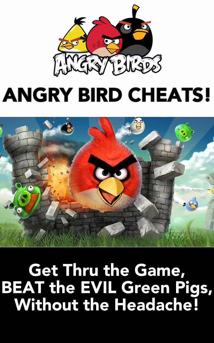 angry birds walkthrough and Cheats