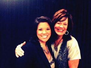 Michelle Aguilar & Lisa Harper