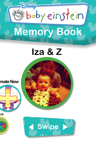My Baby Einstein iPhone App – Memory Book Feature