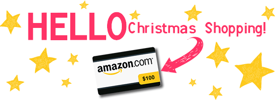 enter for your chance to win a $100 electronic amazon gift card