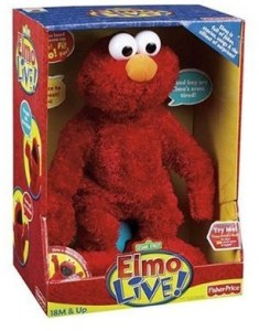 Hot Christmas Toy for 2008 - Tickle Me Elmo Live